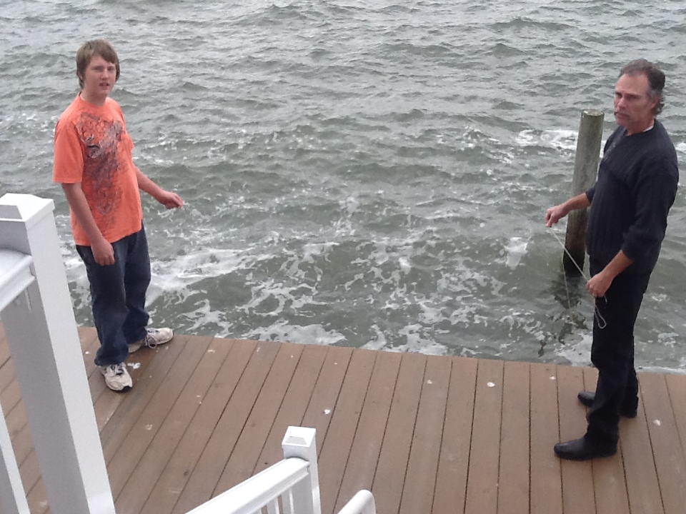 Crab fishing in Ocean City Maryland