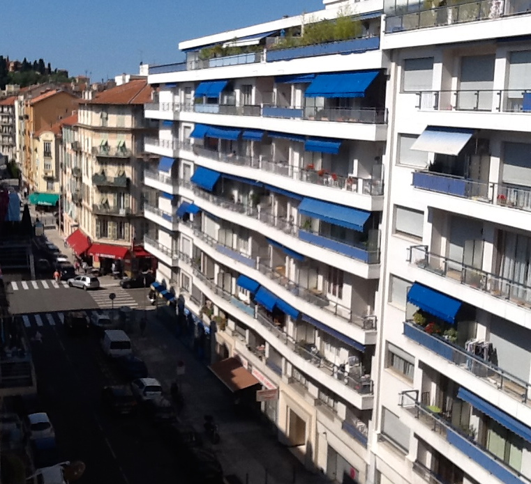 A view from our room in Nice France