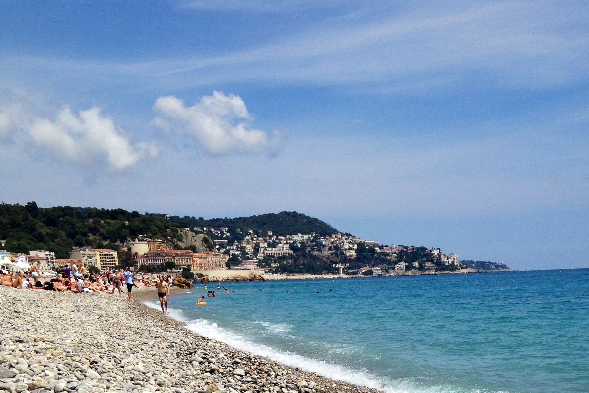 A view of Côte d'Azur