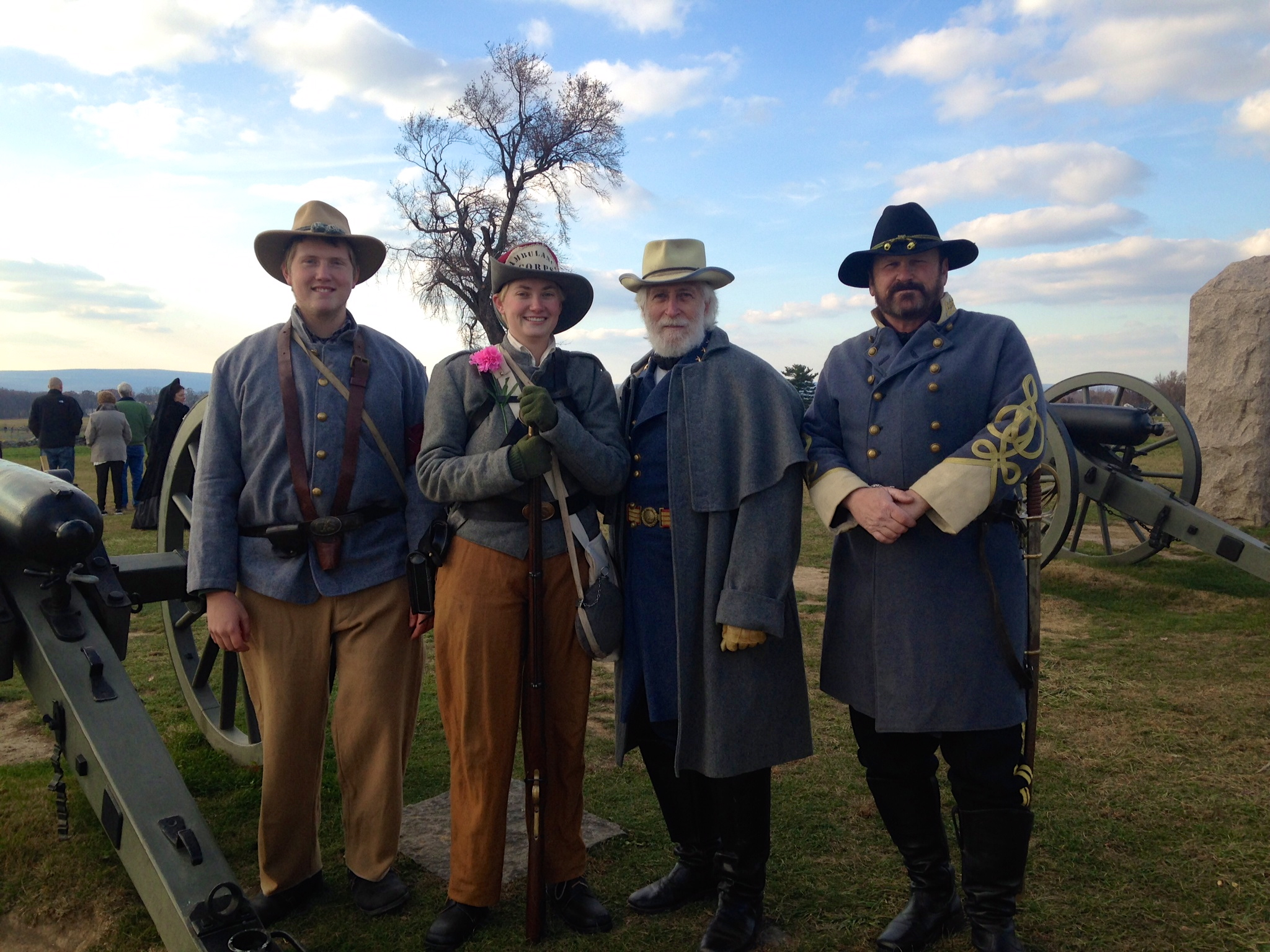 Reenactors at Gettysburg Remembrance Day