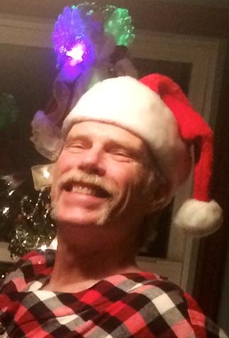 Tom with Christmas spirit