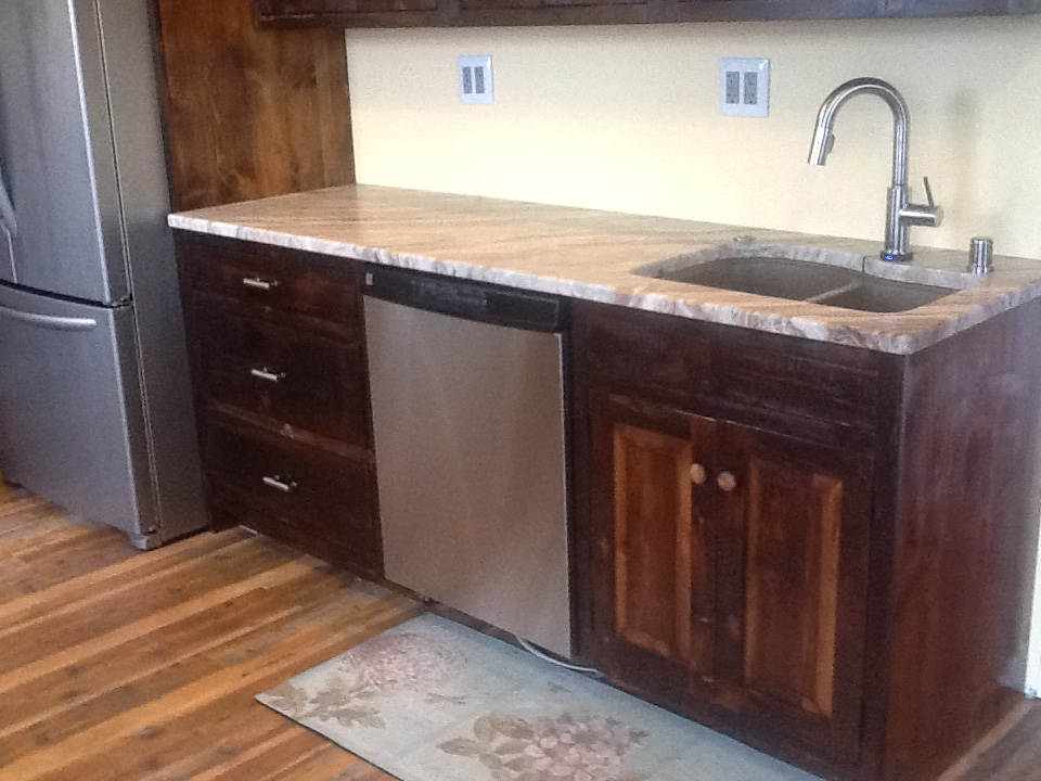 Our new marble counter top