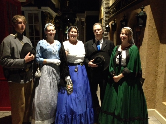 Nineteenth century clothing at Byer's Choice