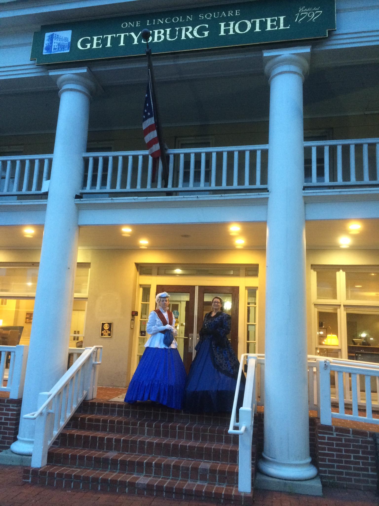 Nancy at Gettysburg PA