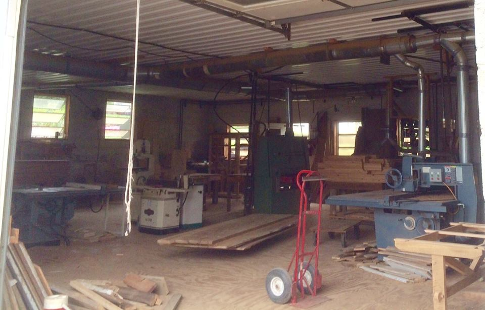 Amish Woodworking Shop