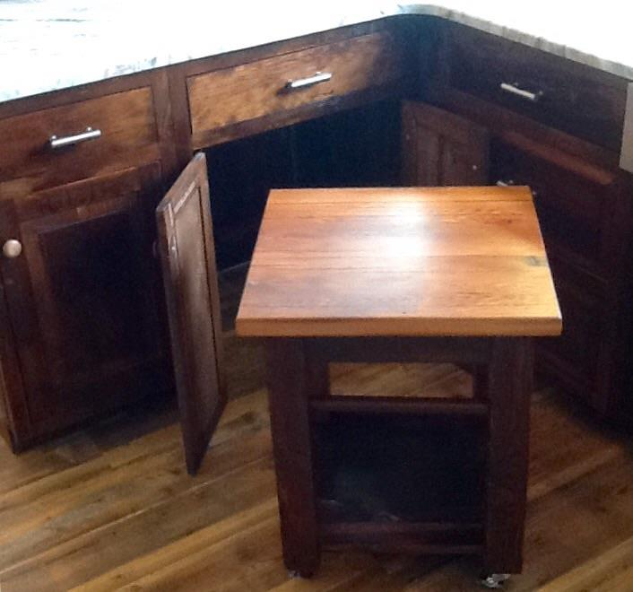 Amish made dough table